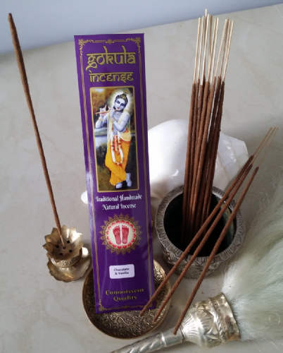 Chocolate & Vanilla Incense Sticks - 20 grams